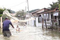Banjir di Aceh Utara Kian Meluas, 4.547 Jiwa Mengungsi