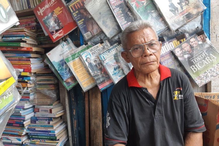 Gatot pemilik warbuk Ampera di Jalan Tanjung Duren Barat Barat, Grogol Petamburan, Jakarta Barat