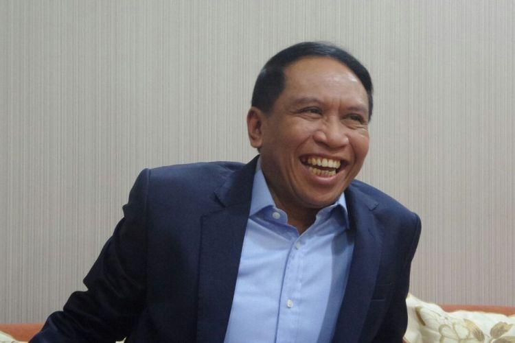 Ketua Komisi II Zainuddin Amali di Kompleks Parlemen, Senayan, Jakarta, Rabu (15/3/2017).