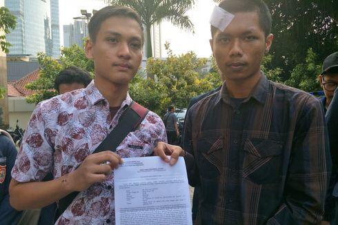 Dua Mahasiswa Unkris yang Dianiaya Polisi Lapor ke Propam Polda Metro Jaya