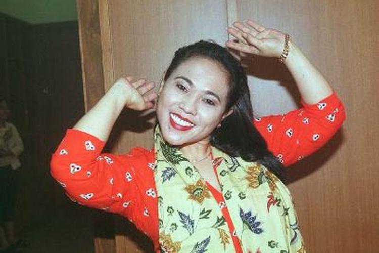 Pelawak Tri Retno Prayudati atau yang akrab disapa Nunung.