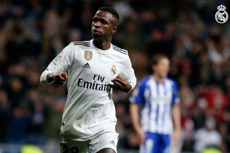 Penyerang Real Madrid, Vinicius Junior.