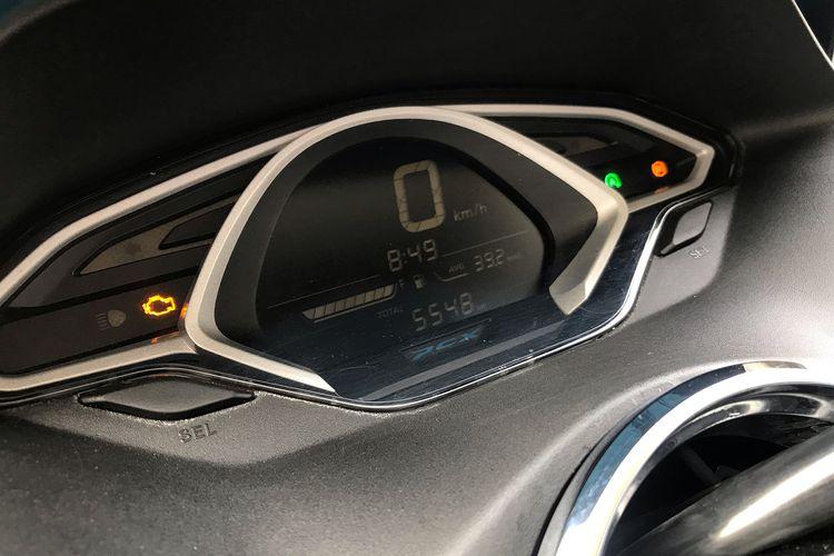 Lampu engine check pada motor Honda
