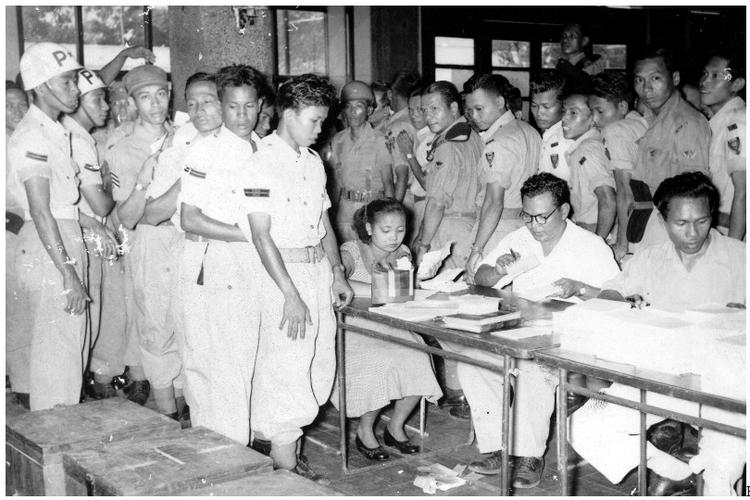 Pelaksanaan Pemilihan Umum 1955