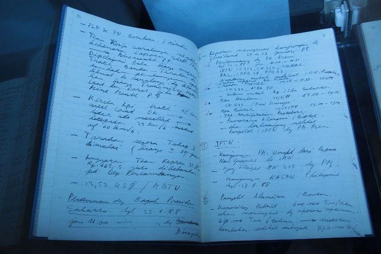 Buku harian BJ Habibie