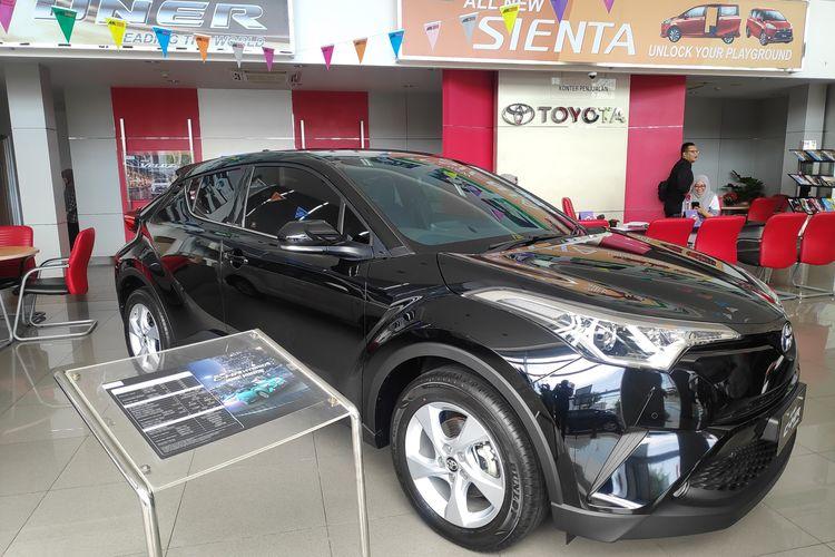 C-HR hybrid jadi model hybrid yang menarik minat konsumen Balikpapan