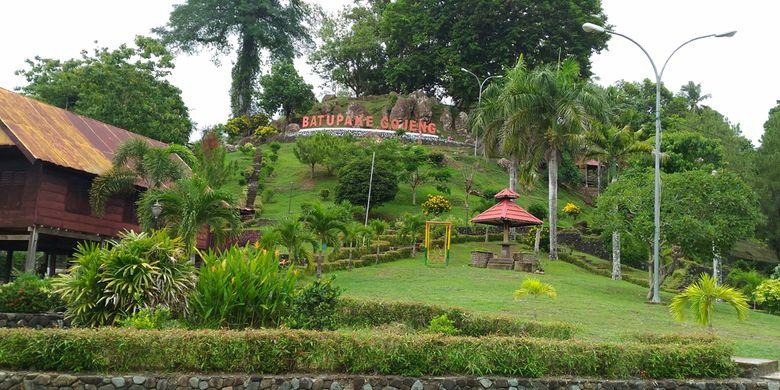 Taman Purbakala Batu Pake Gojeng, Kabupaten Sinjai, Sulawesi Selatan.