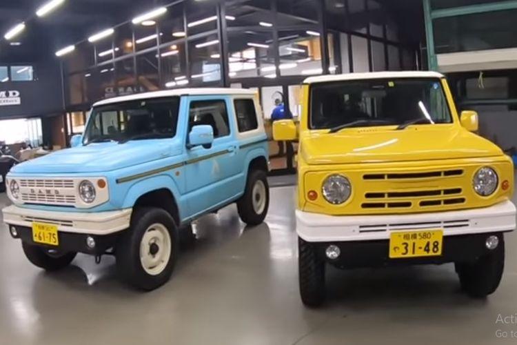 Dua Suzuki Jimny yang bakal tampil di ajang Tokyo Auto Salon 2020