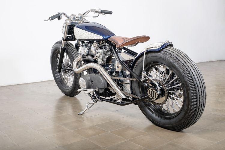 Yamaha XS 650 bergaya American Bobber garapan Surya Motorworx