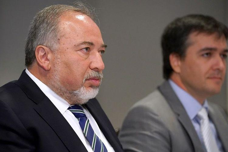 Menteri Pertahanan Israel Avigdor Lieberman