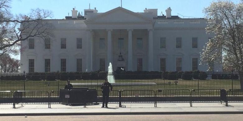 White House, tempat kediaman dan kantor resmi presiden AS.