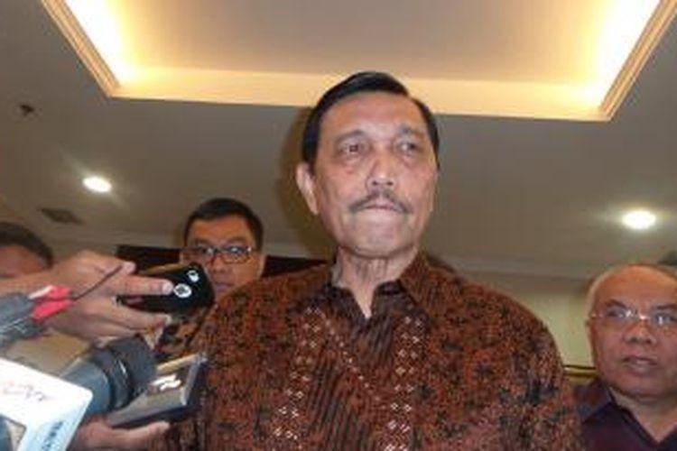 Menteri Koordinator Politik, Hukum, dan Keamanan Luhut Binsar Pandjaitan