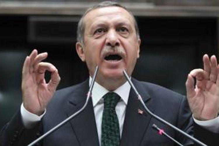 PM Turki, Recep Tayyip Erdogan.