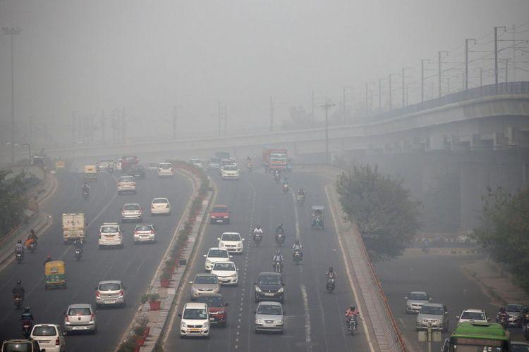 New Delhi didaulat sebagai kota dengan pencemaran udara paling tinggi di India.