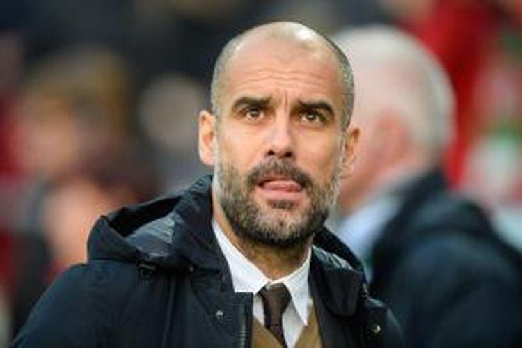 Pelatih Bayern Muenchen, Josep Guardiola.