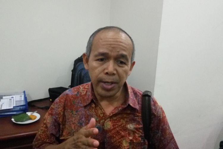 Direktur Eksekutif Institut Studi Transportasi (Instran) Darmaningtyas saat ditemui Selasa (8/8/2017)
