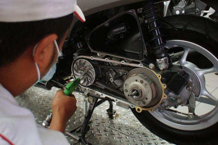 Perawatan CVT pada motor matik