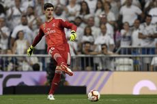 Man City Vs Real Madrid, Courtois