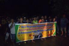 Warga Tutup Jalan dan Tolak Pemakaman Jenazah Suspek Covid-19, Camat hingga TNI Polisi Turun Tangan
