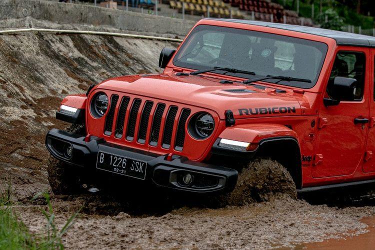 Camp Jeep Media 2021, ajang test drive dari peluncuran Jeep Gladiator