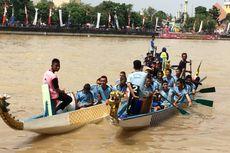 Mengenal Kompetisi Perahu Naga, Tradisi China di Kali Cisadane