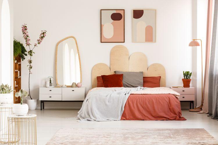 Ilustrasi kamar tidur.