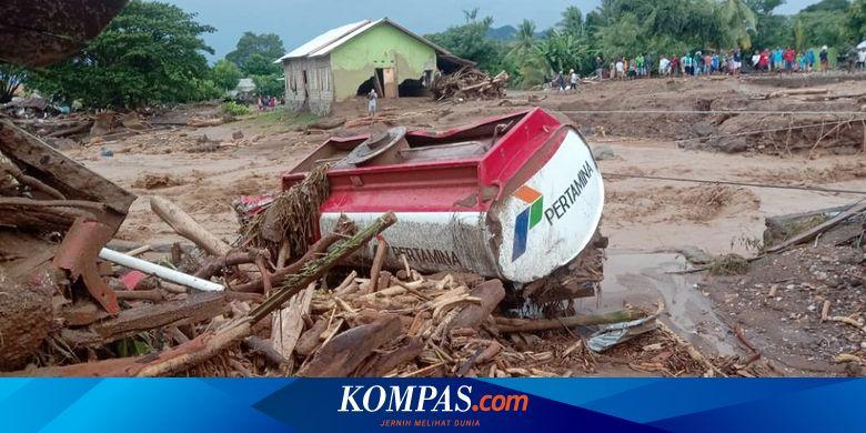 UPDATE: Korban Jiwa akibat Bencana di NTT dan NTB 119 Orang