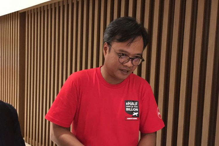 CEO AirAsia Indonesia Dendy Kurniawan