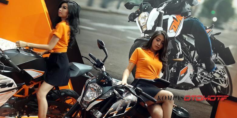 KTM Indonesia bersiap menerima hasil positif setelah menurunkan harga.