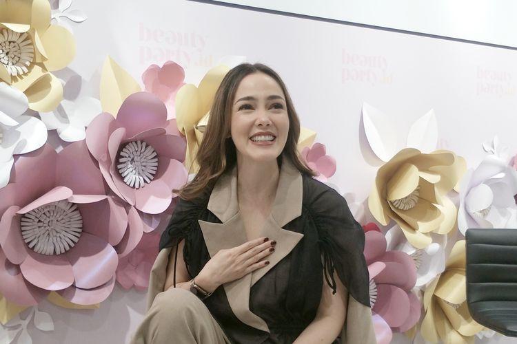 Cathy Sharon Tak Batasi Anak Pakai Make Up