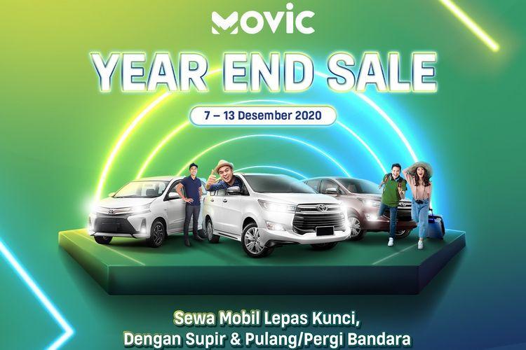 Sewa mobil Movic Astra Digital di akhir tahun