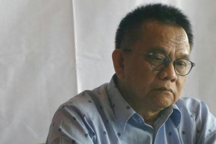 Wakil Ketua DPRD DKI Jakarta, M Taufik dalam dikskusi publik di Menteng, Jakarta Pusat, Kamis (30/6/2016).