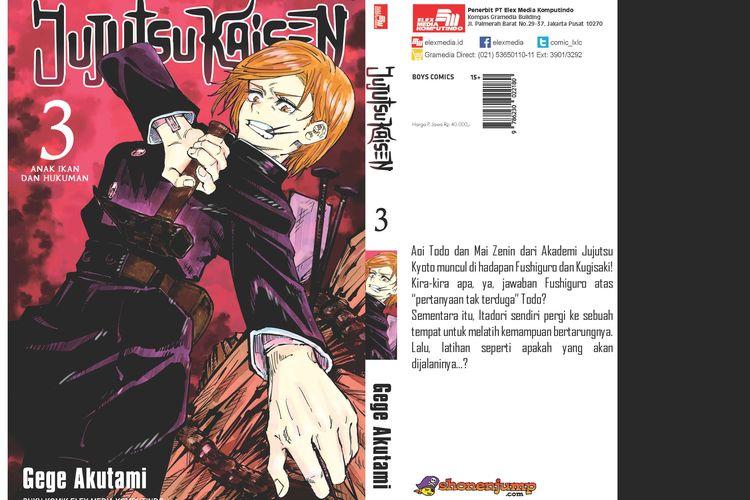 Komik Jujutsu No Kaisen 03