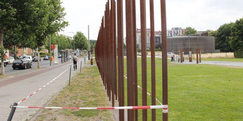 Sisa-sisa Tembok Berlin di Jerman, Rabu (21/6/2018), memiliki daya tarik menyedot wisatawan.