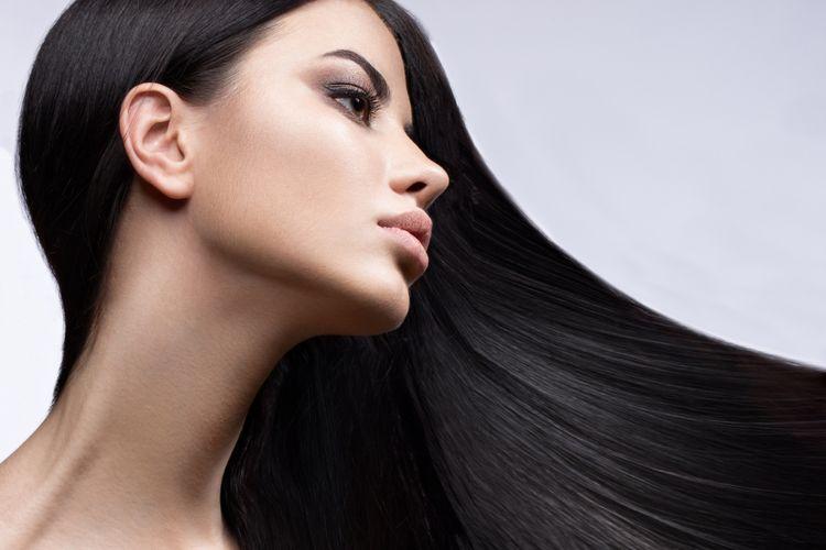 Rambut panjang lurus