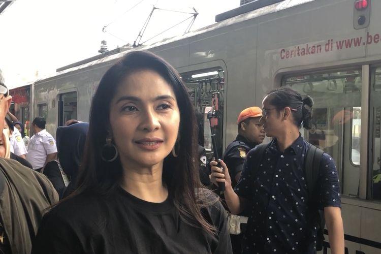 Maudy Koesnady saat dijumpai di kawasan Jakarta Pusat, Rabu (15/1/2020).