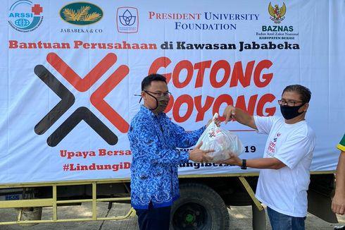 Jababeka Salurkan 2.500 Paket Sembako untuk Warga Terdampak Covid-19