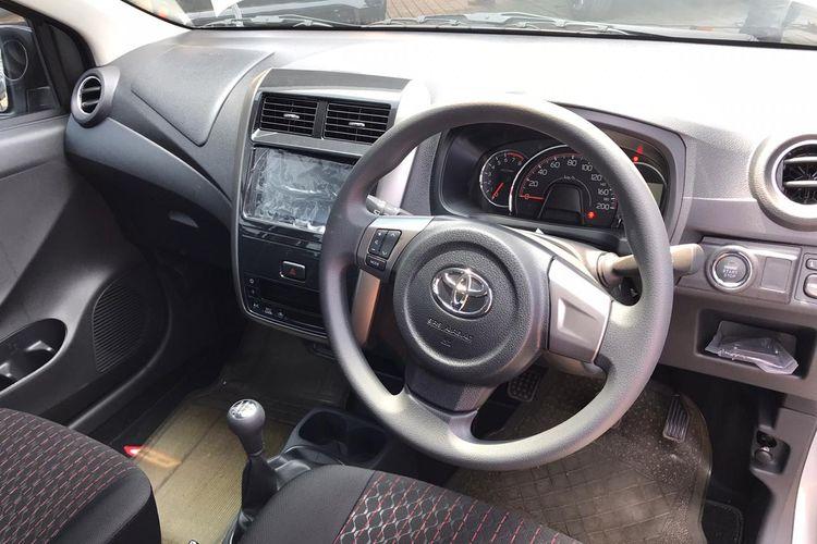 Toyota Agya facelift tipe TRD M/T