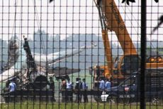 Pesawat F-16 Skuadron 3 Iswahyudi Gantikan F-16 yang Terbakar di Halim