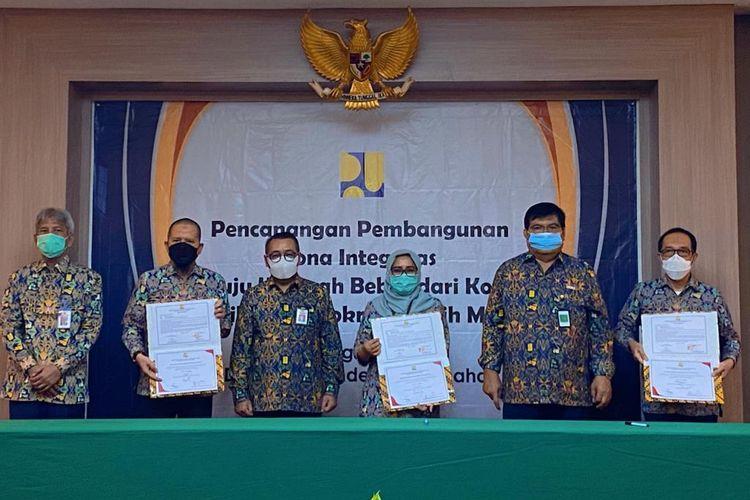 Pencanangan Zona Integritas Bidang Perumahan Kementerian PUPR