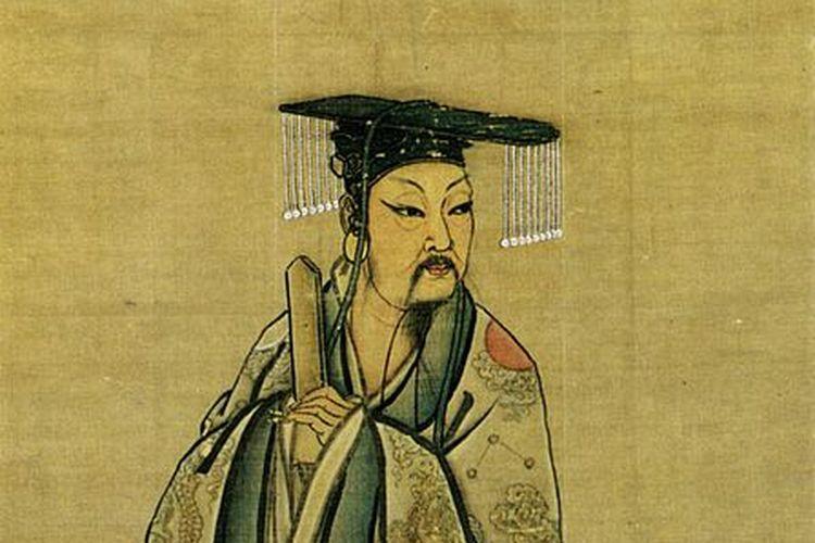 Penggambaran Yu yang Agung, penggagas pemerintahan dinasti di China.