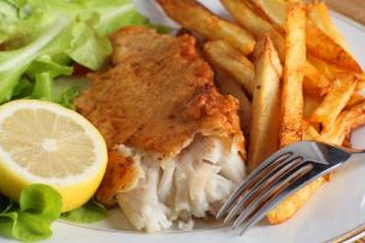 Sebagai salah satu negara penghasil ikan, Australia juga terkenal dengan menu fish and chips yang lezat.