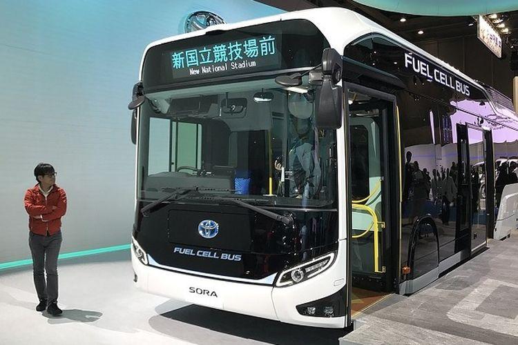 Bus listrik Toyota