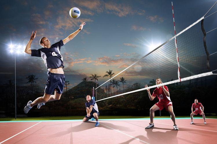 Ilustrasi olahraga malam hari