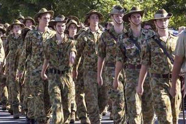 Tentara Australia.