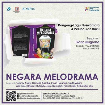 e-Poster Negara Melodrama Garin Nugroho