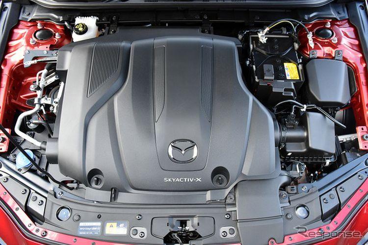 Mesin mobil Mazda yang berteknologi SKYACTIV-X