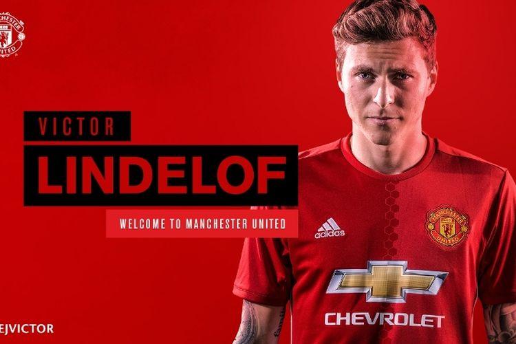 Manchester United resmi mendapatkan Victor Lindelof.