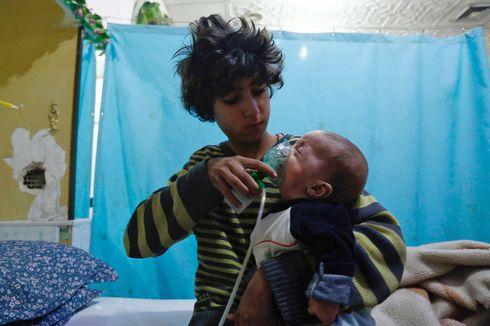 AS Tuduh Rezim Assad Gunakan Senjata Kimia Jenis Klorin di Suriah