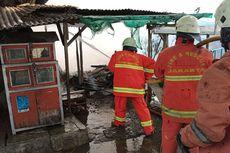 Kebakaran Hanguskan Warteg dan Rumah Kontrakan di Kalideres